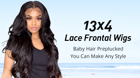 13*4 Lace Frontal Wigs