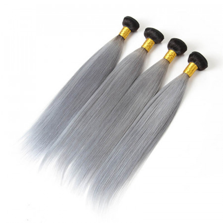 4pcs Straight Ombre Hair Bundles