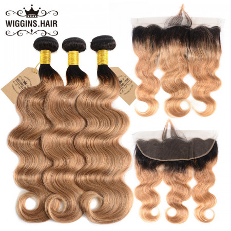 Body Wave 3pcs With Lace Front