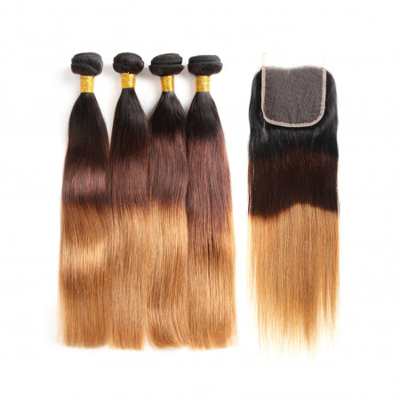 Virgin Hair 4 Bundles