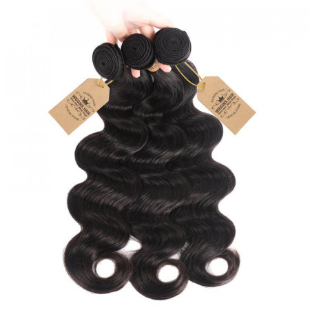 Peruvian Human Hair Body Wave Weave 3 Bundles Virgin Hair
