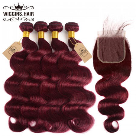 Body Wave Ombre Virgin Hair 4pcs