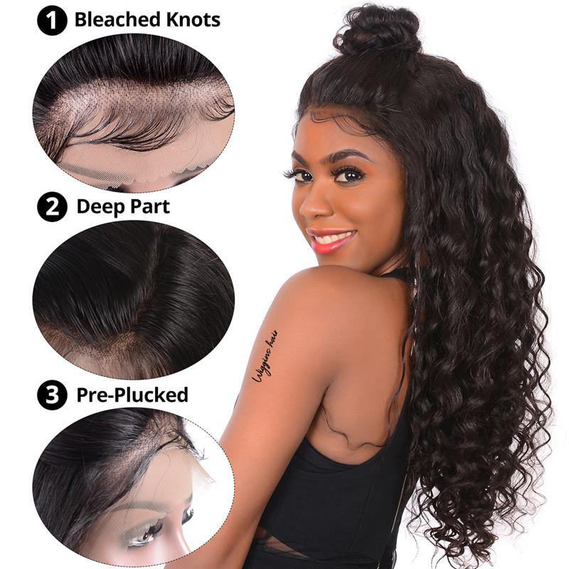 15a3d369d Loose Deep Wave Full Lace Wig 8A Grade 180% Density Lace Wig. Full Lace Wig