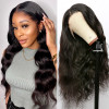 Body Wave Silk Base Lace Front Wig 13*4 Human Hair Lace Front Wigs 130%-250% Density