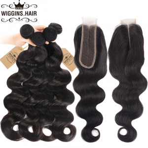 4 Bundles With 2*6 Lace Closure