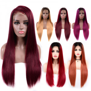 Human Hair Color Wigs