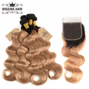 Body Wave Weave 4pcs With Lace Closure