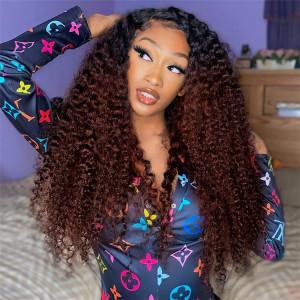 #1B/33 Kinky Curly Wigs