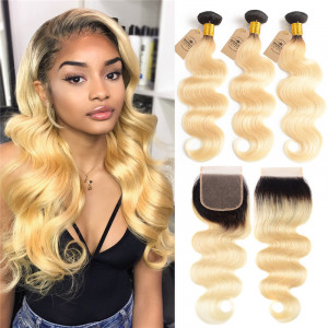 Ombre Color Human Virgin Hair