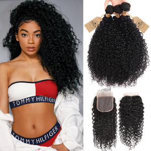 Peruvian Curly Hair Products 3PC