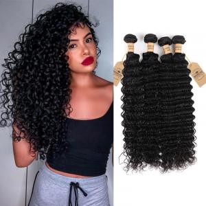 Deep Wave Virgin Hair 4 Bundles