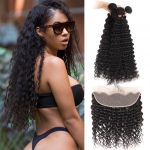 Brazilian Hair Bundles 4 PCS