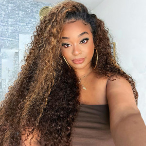 Highlight Curly Wigs