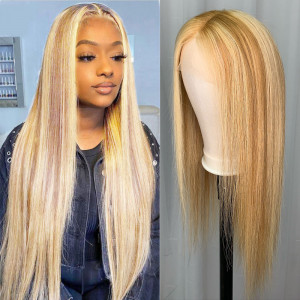 Honey Blonde Highlights Wigs