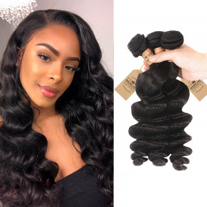 Brazilian Human Virgin Hair 3 Bundles