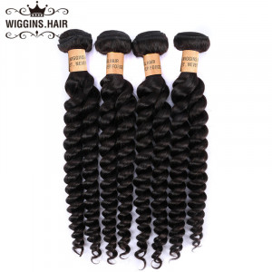 Human Hair Weave Loose Wave 4 Bundles