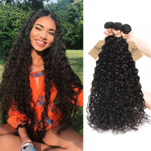 Water Wave Weave Hair 3 Bundles
