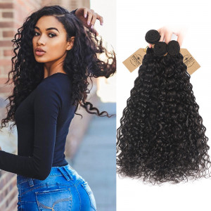 Peruvian Natural/Water Wave 3 Bundles