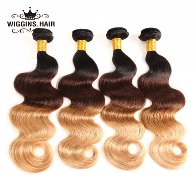 1B/4/27 Color Ombre Virgin Hair 4 Bundles Body Wave Weave