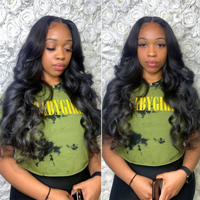 5*5 Lace Closure Wig Body Wave Wig Human Hair Lace Wigs 130%-250% Density
