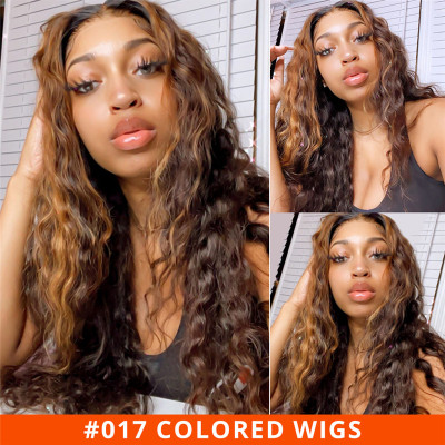 Highlight Wigs 2x6 Lace Closure Wigs Cheap Human Hair Wigs