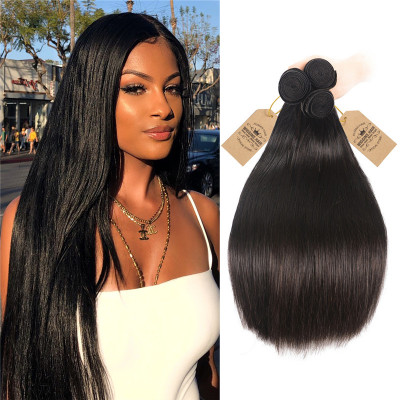 Malaysian Hair 3 Bundles Straight Hair Wave Weave Top Selling