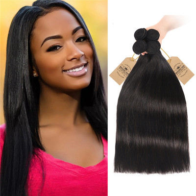 4 Bundles Virgin Straight Hair Virgin Human Hair Extensions