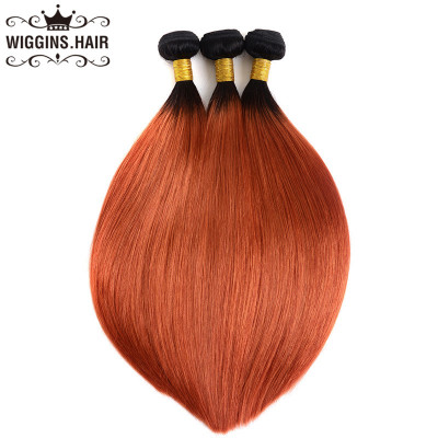 1B/350 Color Ombre Hair Straight Bundles Human Virgin Hair Weave