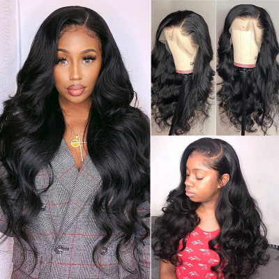 Body Wave Big Lace Wig 13*6 Lace Front Wig 130%-250% Density Wholesale Wigs 8A Grade