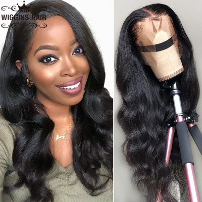 Body Wave 180% Density 4X4 Human Hair Lace Front Wigs On Sale