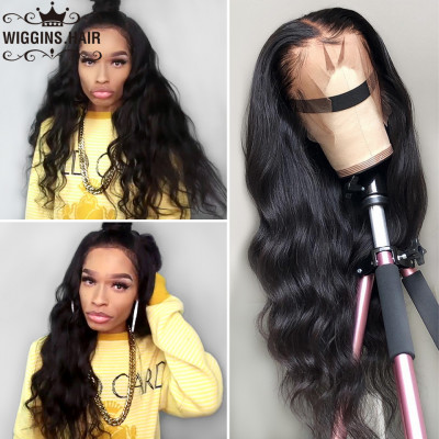 180% Density Full Lace Human Hair Wigs Brazilian Body Wave Virgin Hair