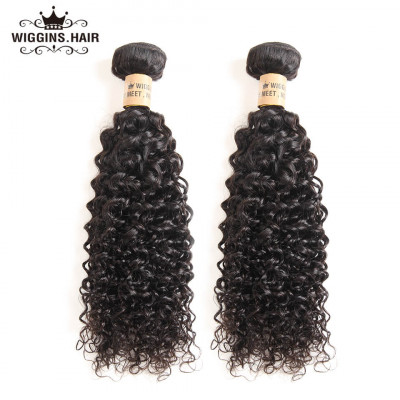 Brazilian 2 Bundles Virgin Curly Weave Human Hair Bundles Of Hair