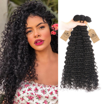 Malaysian Deep Wave Weave Top Selling Hair 3 Bundles Hair