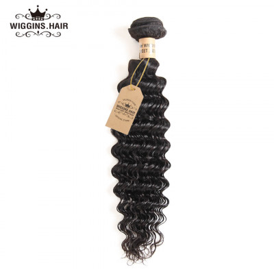 Brazilian Virgin Hair Deep Wave Human Virgin Hair 1 Bundle
