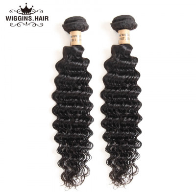Brazilian Virgin Hair Deep Wave Human Hair 2 Bundles Hair