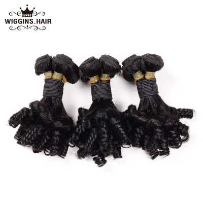 Brazilian Virgin Hair Funmi Hair Weave Romance Curl 8A Grade