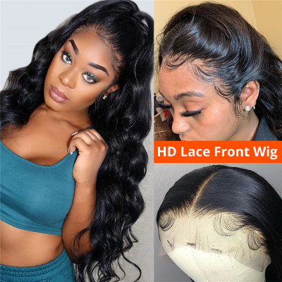 Body Wave HD Lace Wigs 13*4 Lace Front Wigs Human Hair Wigs 18-30Inches In Stock