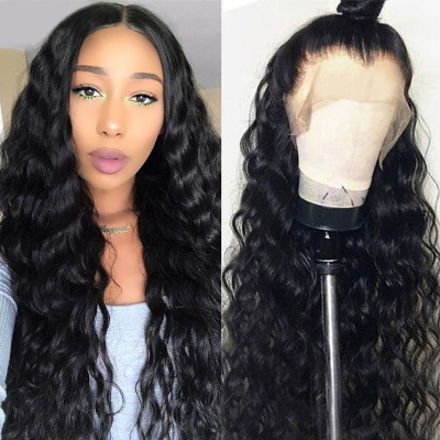 Loose Deep Wave 4x4 5x5 Fake Scalp Wigs Invisible Lace Wigs 4x4 5x5 Closure Wigs With Baby Hair