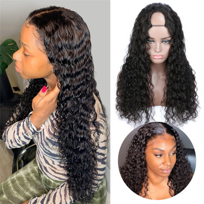 U Part Wigs Cheap Human Hair Wigs Real Hair Wigs For Black Women