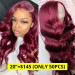 Burgundy Lace Front Wigs