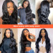 Long Body Wave 4*4 Lace Wigs