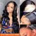 Body Wave 13*6 Fake Scalp Wigs
