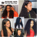 Deep Wave 6*6 Fake Scalp Wigs