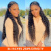 Water Wave 13x4 Lace Front Wigs