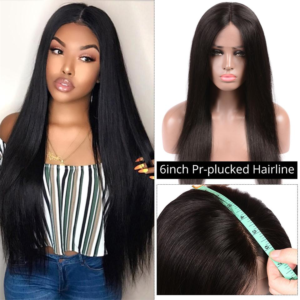 6*6 lace front wig