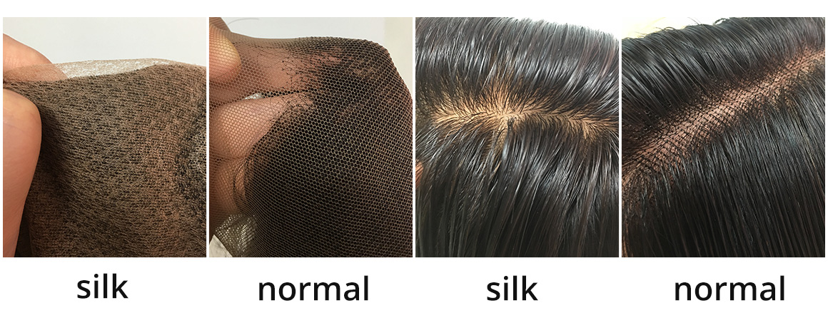 difference between silk base lace and normal lace