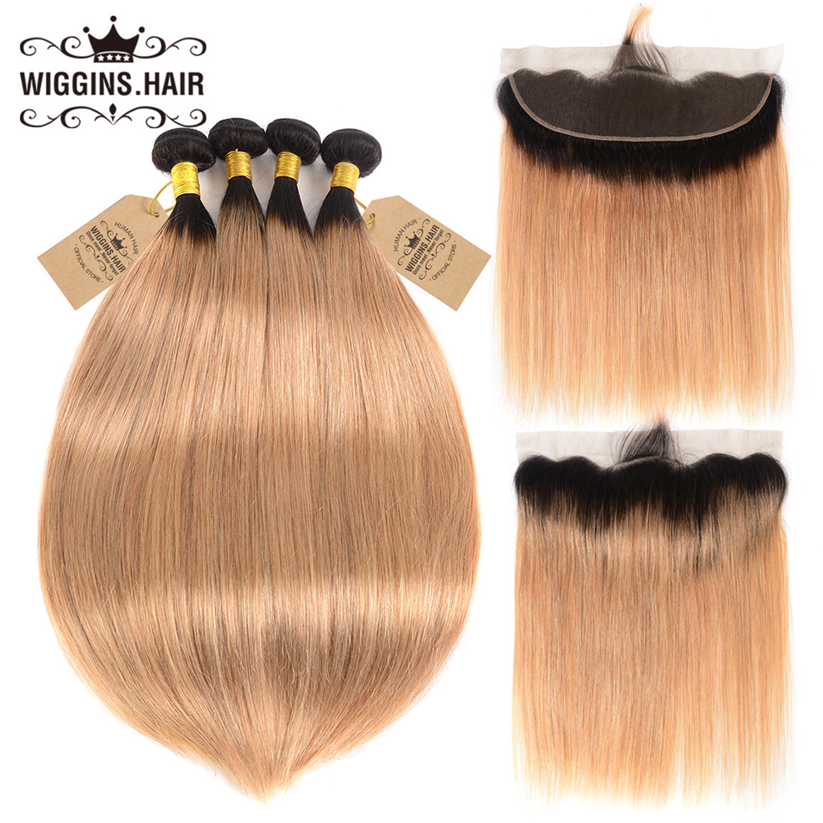 Brazilian Straight Hair 4pcs
