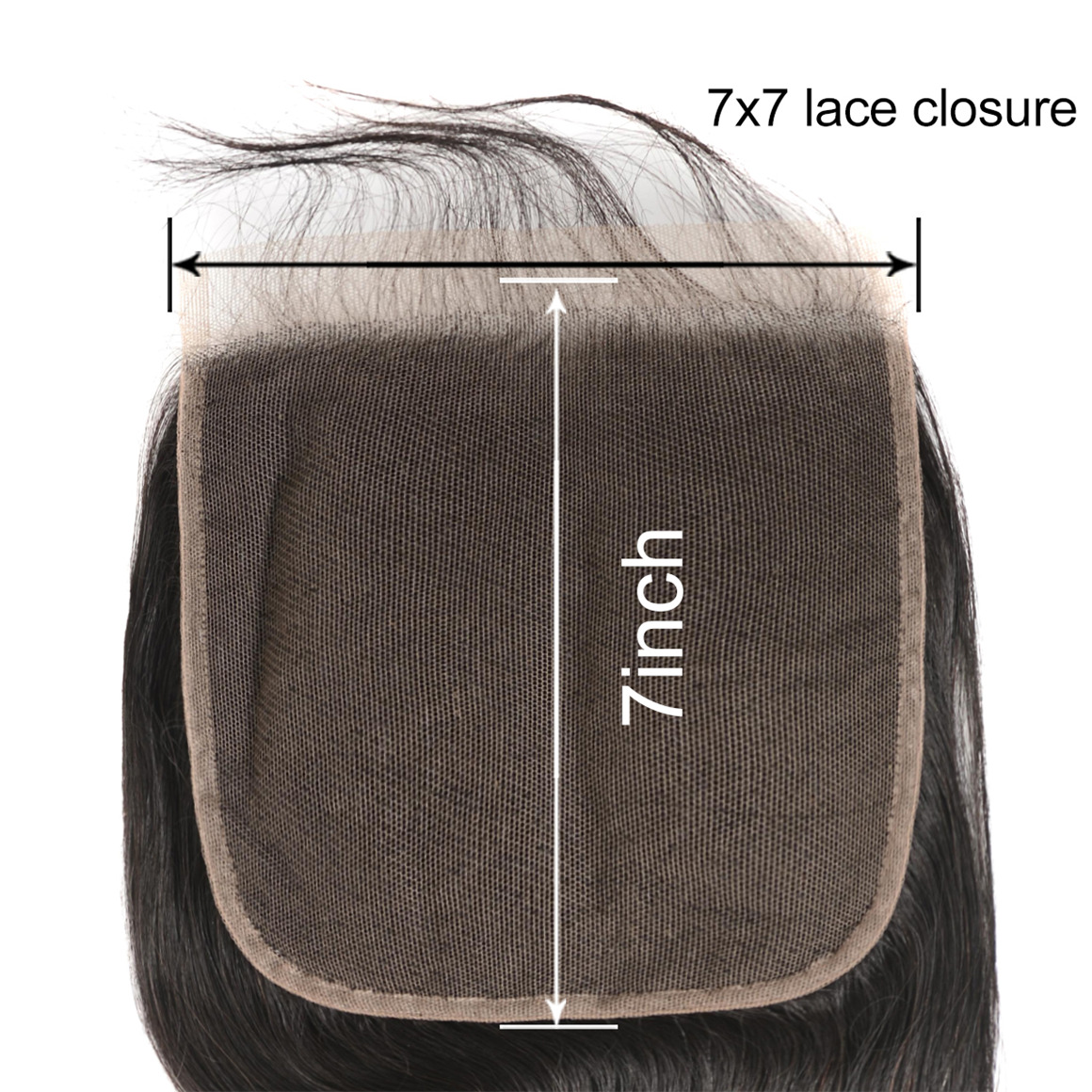 7*7 Lace Closure