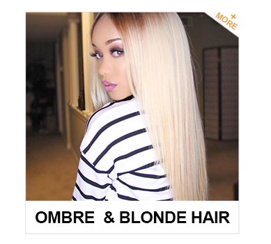 ombre & blonde hair