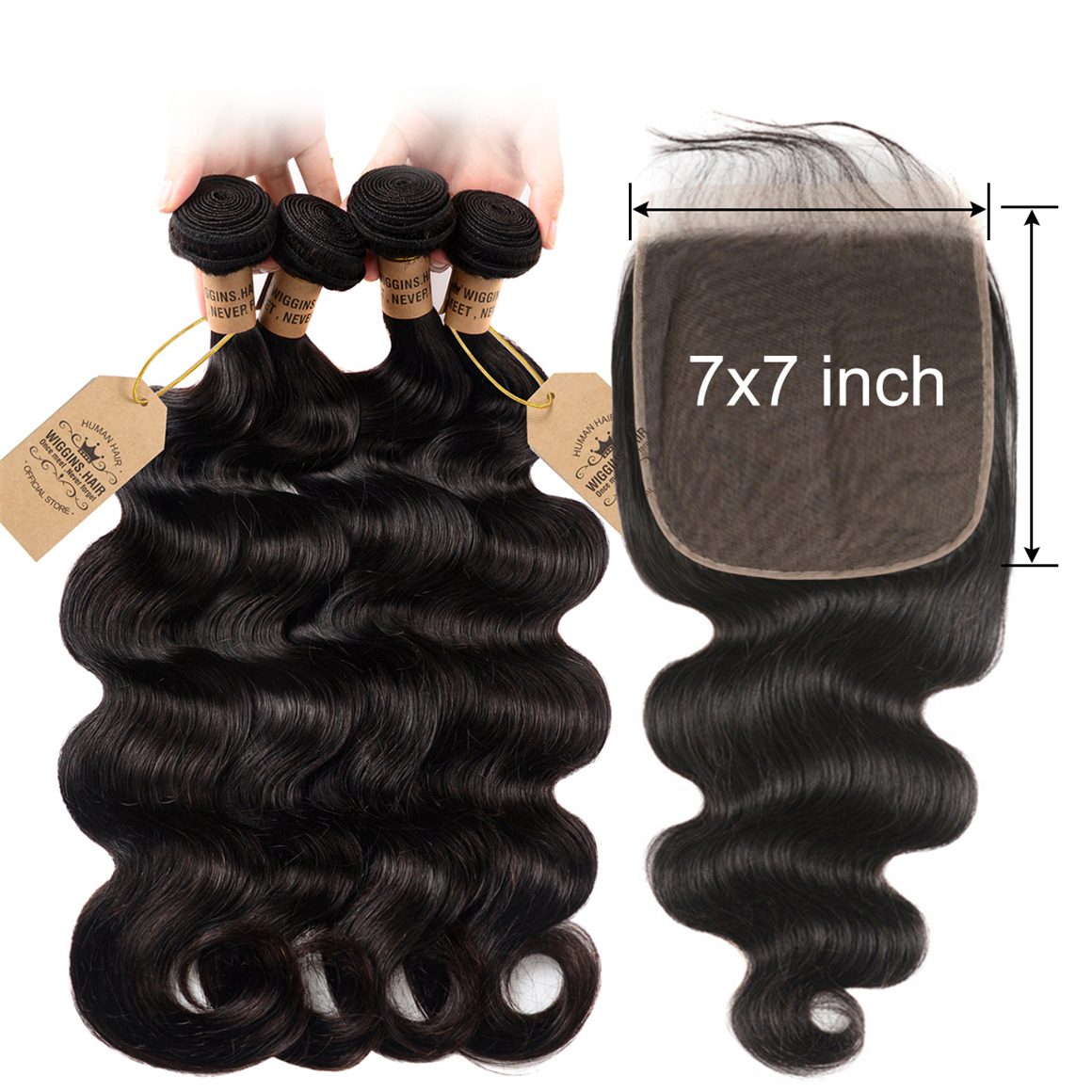 7*7 Lace Closure